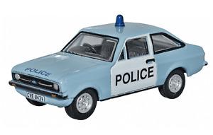Oxford Diecast 1:76 Ford Escort Mk2 Police Car 76ESC004