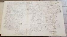 Nirenstein 1925 Worcester, Massachusetts Old City Street Map 100% Business