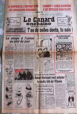 Le Canard Enchainé 6/02/1985; La surprise de l'emprunt Béré, les lessiveuses déb