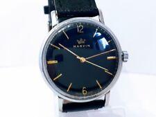 Herrenuhr schön Vintage NICE MARVIN cal.560 3ADJS 17 j. Working watch Swiss