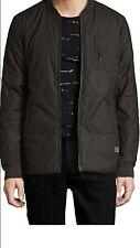 NEW-Globe Griffin Jacket in Army - Full Zip Up Skate/Street Wear Jacket