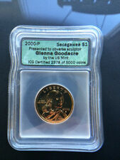 2000-P Glenna Goodacre Sacagawea Dollar $1 - ICG Certified - 2378/5000 Minted