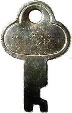 N-3815K NICKEL PLATED STEEL TRUNK LOCK REPLACEMENT KEY ONLY