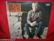 JOHN DENVER Greatest Hits volume Two LP 1982 ITALY MINT- Annie's Song Calypso