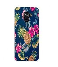 Carcasa Galaxy S9 Piña Flor Rosa Tropical Exótico Hawaii Aloha