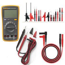 Fluke 15b F15b Digital Multimeter Meter Amp 21 In 1 Multimetertest Lead Kit
