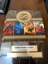WoW Loot Card - Personal Weather maker - Goblin Weather Machine (Unscratched)