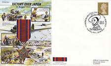 JS50/45/16A WWII WW2 50th Ann Victory over Japan RAF cover 2015 Gurkha postmark