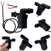 12V 1/2'' 480L/H Black Brushless Water Pump Solar Power Hot Circulation Motor