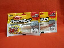 BERKLEY POWERBAIT POWER JERK SHAD (5IN) WHITE PEARL (10CT)(2PK'S)#1478934