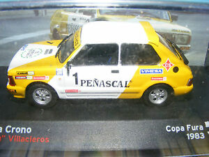 SEAT FURA CRONO 1983 RALLY Car  Product in 1:43rd. Scale
