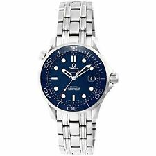 Omega Seamaster Stainless Steel Case Wristwatches