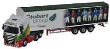 Oxford Diecast Scania Truck Walking Floor Stobart Ascot Champions Day 1:76 Oo