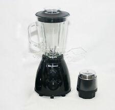 Negro 500w Eléctrico Multi alimentos Licuadora Con Molinillo Smoothie Procesador De Regalo