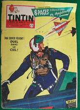 """JOURNAL TINTIN n° 586  """"Le journal des jeunes de 7 à 77 ans Années 1959 / 1960"""""""