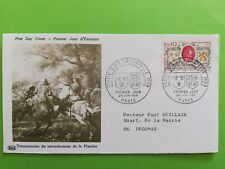 P012 Umschlag 1ER Tag 1968 Dreihundertjährigen Anschluss De La Flandern