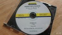 NEW HOLLAND BOOMER 41 47 TRACTOR OPERATORS MANUAL CD DN168