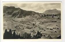 AK Hirschegg, Kleinwalsertal, Panorama, Foto-AK 1940