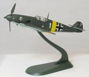 "Gemini As GALFT3004 1/72 Messerschmitt BF109F Luftwaffe "" Blanc 2.5cm Roumanie"