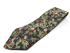 The Disney Store 7 Dwarves Multi-Colored 100% Silk Men's Neck Tie Made in Italy