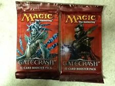 2x Magic the Gathering MTG Gatecrash 15-card Booster Pack English Factory Sealed