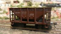 Roundhouse MDC HO Ore Car, Chicago North Western, Upgraded, Excellent