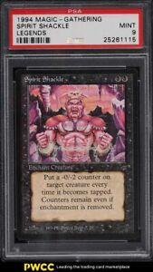 1994 Magic The Gathering MTG Legends Spirit Shackle PSA 9 MINT