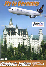 FSX Flight Simulator X - Fly to Germany ADDON New! Download NOW for PC