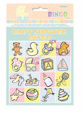 Baby Shower Party Favours Bingo Cards Kit Set Pack Fun Party Game Mum To Be VIC