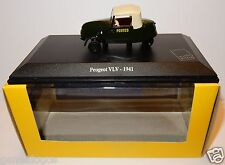 UNIVERSAL HOBBIES UH PEUGEOT VLV 1941 POSTES POSTE PTT 1/43 in luxe box