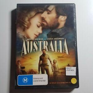 Australia   DVD Movie   Hugh Jackman, Nicole Kidman   2008   War/Romance   PAL