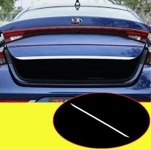 Fit For kia K5 Optima 2021+ steel Rear Trunk Tailgate Door Lid Cover Trim Strip