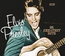 ELVIS PRESLEY - 65 GREATEST HITS  3 CD NEUF