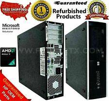 HP COMPAQ 6005 PRO SFF PC ATHLON II X2 B24 2.8 GHZ 8 GB 500 HDD 1 YEAR WARRANTY