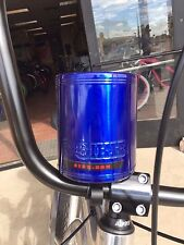 SIKK Cruiser Bicycle Stainless Steel Insulated Cup Holder - BLUE Beach Cruiser