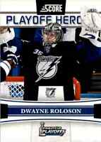 2011-12 Score Playoff Heroes Dwayne Roloson #7