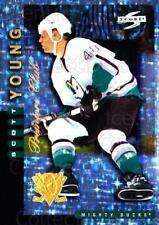 1997-98 Score Anaheim Mighty Ducks Premiere Club #10 Scott Young