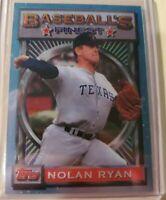 1993 Topps Finest Promo #107 Nolan Ryan /5000 Mint Condition!