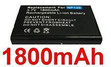 Battery 1800mAh type BP-1500S D-LI7 DB-43 NP-120 Fits Medion Life P44029