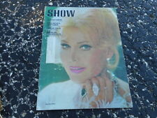 AUG 20 1970 SHOW movie and arts oversized magazine ZSA ZSA GABOR