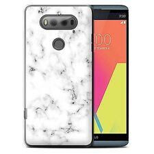 STUFF4 Back Case/Cover for LG V20 F800/H990/VS995/Marble Rock Granite Effect