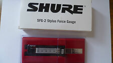 Genuine shure SFG-2 stylus tracking force gauge SFG2