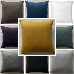Handmade Herringbone Tweed Cushion With Pad Insert Home Decor Sofa Bed Zipper