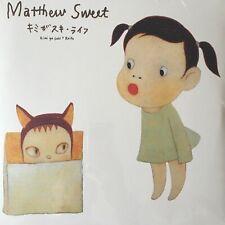 "Yoshitomo Nara LTD Edition 500 ""Sweet"" Red Coloured Vinyl"