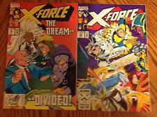 X-Force #19, #20 - 1st Appearance of Copycat - 1st Print