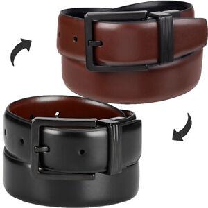 Kenneth Cole Reaction Belts Men's Reversible Casual Belt Black/Brown