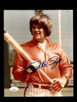 Pete Rose JSA Coa Signed 8x10 Photo Autograph