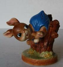 Bunny Rabbit Figure Josef Originals Bunny Hutch Fence Fig Ceramic Made in Japan