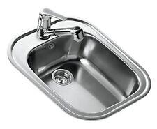 Teka Stylo 1c Top-mount Kitchen Sink Rectangular Stainless Steel - Kitchen...