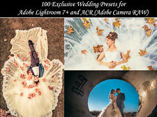 100 Premium Wedding presets for Adobe Lightroom 7+ and ACR (Fast Email Delivery)